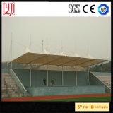 Material para techos extensible del pabellón del estadio del gimnasio de la estructura de la membrana de PTFE