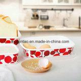 Decklack-Tafelgeschirr-Küchenbedarf-Decklack-Potenziometer-Sammelbehälter-Imbisse frisch - Halten des Kastens mit hölzernem Deckel