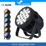 24*18W Rgbwap wasserdichter farbenreicher LED NENNWERT kann im Freienlicht