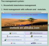 電子ホテルの木のドアロック、読取装置、カード、システムを使用