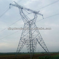 110kV y 132kV Energía Eléctrica torre de acero de transmisión