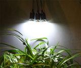 Jogos Home solares do sistema de iluminação com as 3 ampolas do diodo emissor de luz
