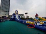 Trasparenza gonfiabile gigante pazzesca dell'ippopotamo dell'acqua per i bambini e l'adulto