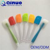 Шпатель Food-Grade ручки пластмассы силикона смещенный