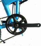 Shimano plegable el ciclomotor eléctrico del neumático gordo