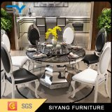 Modern Design Gold Dining Room Seth Round Table
