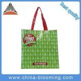 Eco-Friendly покрынный Non сплетенный зеленый мешок супермаркета покупкы