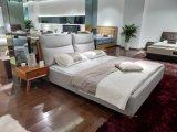 Простой стиль ткань мягкая кровать (SBT-37)