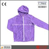 Mesdames Casual Knitting Melange Fleece Jacket