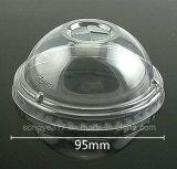 tampa do copo do leite do plástico de 95mm