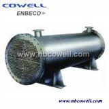 Refroidisseur de compresseur d'huile d'air en acier inoxydable avec ASME et norme ISO