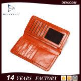 지갑 제조자 공급 패션 디자이너 여권 홀더 이중 지갑