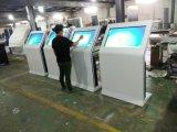 47, 49, 50, 55, 65, 75, étage de l'écran LCD 85-Inch restant tous dans un kiosque d'écran tactile