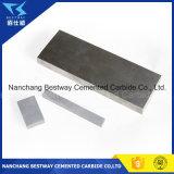 Placa del carburo de tungsteno de la alta calidad Yg8 92%Wc para el corte