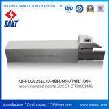 Пила для выборки пазов держатель инструмента Qffd ll17-1002525h соответствует вставки Ztfd0303-Mg