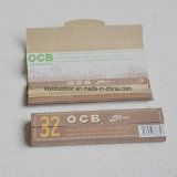 Papel de balanceo del cáñamo de papel de embalaje del papel de balanceo del cigarrillo de 32 que fuma cm