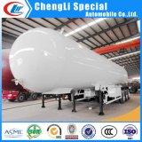 Semi Aanhangwagen 25tons van de Tanker van LPG van het Gas van het Propaan van de Aardolie van tri-assen de 56000liters Vloeibare