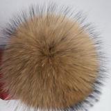 Pelliccia all'ingrosso del Faux di modo di Keychain POM Poms della pelliccia falsa variopinta