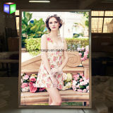 Publicidade ultrafinos com Picture Frame Sinal LED Board