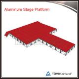 Desfile de Moda Runway fase a fase móvel de alumínio