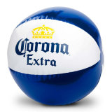 N6p PVC ou TPU Deflated 40cm Inflável Beach Ball Toy