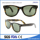 新しい屋外の黒くか緑またはヒョウプリント正方形フレームのサングラス