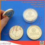 Pièce de monnaie faite sur commande en métal 3D de qualité pour le souvenir