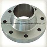 Brides de collet de soudure d'acier inoxydable d'ajustage de précision de pipe