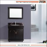 Gabinete superior de mármore T9091-60e/72e da vaidade do banheiro da alta qualidade