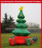 Decoración de Navidad inflable gigante inflables/regalos de Navidad
