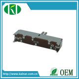 Jiangsu del potenciómetro de diapositiva de 30mm 100k con el eje de la mesa de mezclas de plástico