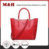 Bewegliche einfache Einkaufen-Leder-Frauen-Handtasche