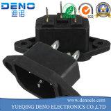 Omsol IEC-C14 macho para fêmea de 3 pinos para tomada de energia de 240 V CA