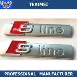 Placa de metal Sline Chrome Logo Insignias emblemas del coche para la etiqueta engomada
