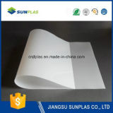 folha do PVC do branco de 0.38mm para anunciar a placa da impressão