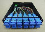 12 quadro d'interconnessione Port di MTP/MPO per MPO Casstte