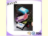 Toalhetes de bebê com 80PCS de algodão com tampa de plástico (JY-Q1502)