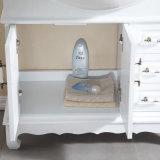 Floor-Mounted Moderne Kabinet van de Badkamers van de Stijl Stevige Houten