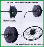 電気自転車のためのJb-104c DIY 48V 500W Eのバイクのハブモーター