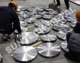 Placa de tubos de calor Equipos Intercambiador de titanio bimetálico de acero al carbono revestido