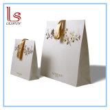 Sac de papier de vente chaud de cadeau promotionnel durable de qualité avec le traitement
