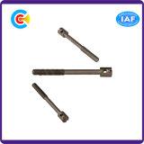 建物の鉄道のためのGB/DIN/JIS/ANSIの炭素鋼かステンレス製の細長かった収縮の棒のシールねじ