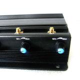 De regelbare Krachtige 15W 3G 4G Stoorzender van het Signaal van Cellphone met 6 Antennes