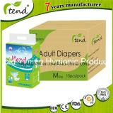 Les personnes âgées//jetables pour incontinence pour adulte/d'approvisionnement médical/érythème (fournisseur/fabricant/producteur/usine/Haute qualité d'absorption/Magic bande)