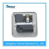 13A 1gangの金属の温度調節装置スイッチソケットアウトレット