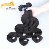 Длинних человеческих волос полные надкожицы волосы Weave наиболее наилучшим образом бразильские
