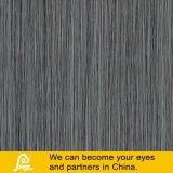 Schwarze Tuch-Zeile glasig-glänzende rustikale Porzellan-Bodenbelag-Fliese