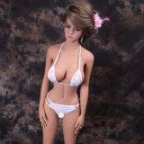 Куклы секса взрослый силикона куклы 158cm влюбленности груди игрушки секса большого полного реалистические