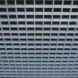 Innenarchitektur-verschobene geöffnete Gitter-Zellen-Decke mit Aluminiumlegierung-Material
