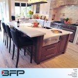 Estilo clássico sólidos de madeira de cerejeira armário de cozinha